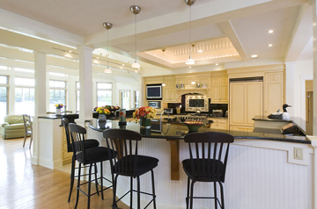 A bright, sunny kitchen renovation for family entertaining