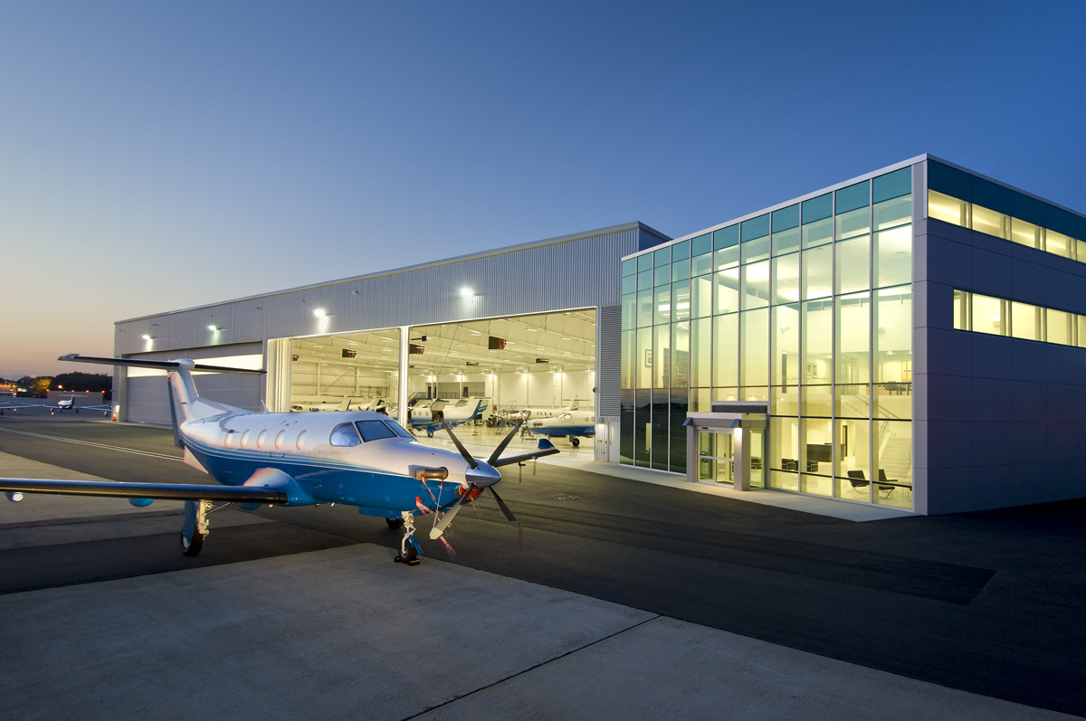 Alpha Flying Hangar and FBO Manchester, NH