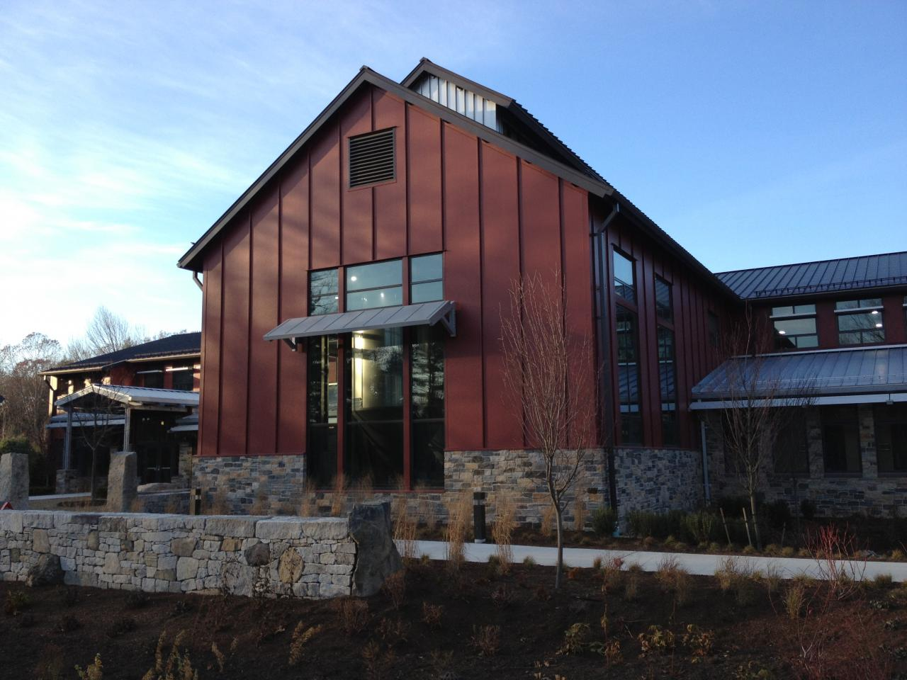 LEED Certification, industrial, hospitality, on-site renewable energy, state-of-the-art facility, brewery, craft, agrarian vernacular