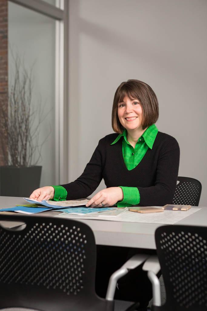 Interior Designer Portrait, Boston, MA | Client: Lavallee Brensinger Architects
