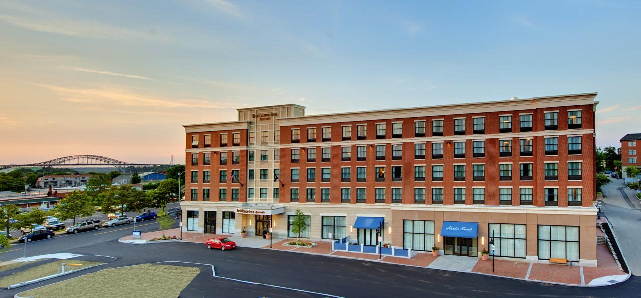 Residence Inn Hotel and Harbor Events Center at Portwalk Portsmouth, NH