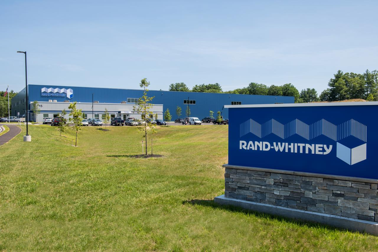 Rand-Whitney new container Facility