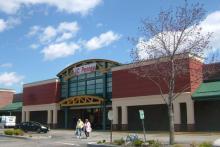 Shopping center facade renovation