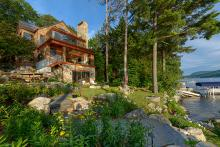New Hampshire Lakefront Home