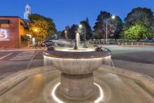 Lebanon Mall Fountain: Photo by GBH Photography