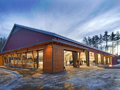 Citation Award: Holderness School Outdoor Ice Rink, Holderness, NH Photo: John Gauvin of Studio One