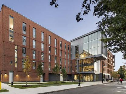 Honor Award: Keene State College Learning/Living Center, Keene, NH. Photo: Anton Grassl