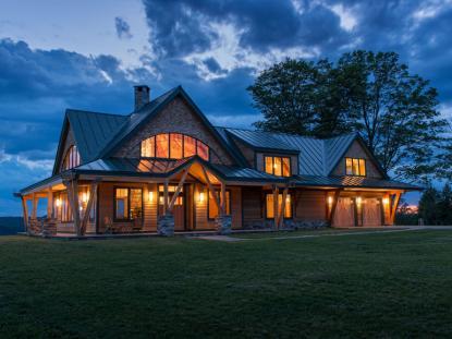 2013 AIANH People's Choice Award: Night Pasture Farm, Bonin Architects and Associates. Photo: John W. Hession