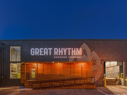 Merit Award: Great Rhythm Brewery, Portsmouth, NH. Photo: David J. Murray, ClearEyePhoto