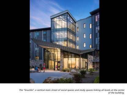 SNHU Monadnock Hall, Lavallee Brensinger Architects, photo:  Anton Grassl Photography