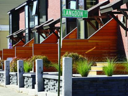 Islington Multifamily Streetscape, WINTER HOLBEN architecture + design