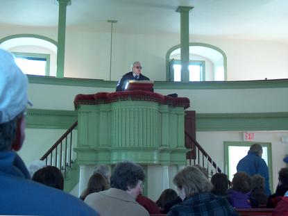 2012 AIANH Merit Award: The Newbury Center Meeting House